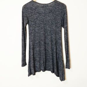 Maurices Tops - Maurices Heather Grey Tunic Top Size Small